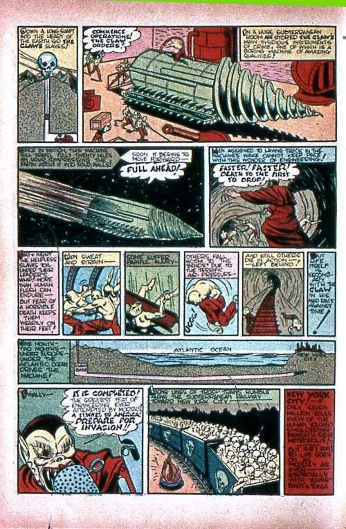 Silver Streak Comics #7, January 1941
