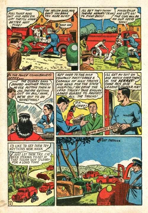 Man of War Comics #2, January 1942