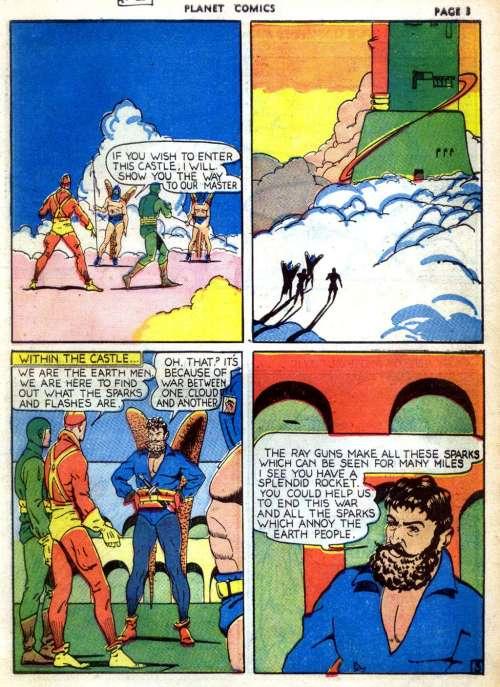 Planet Comics #2, February 1940