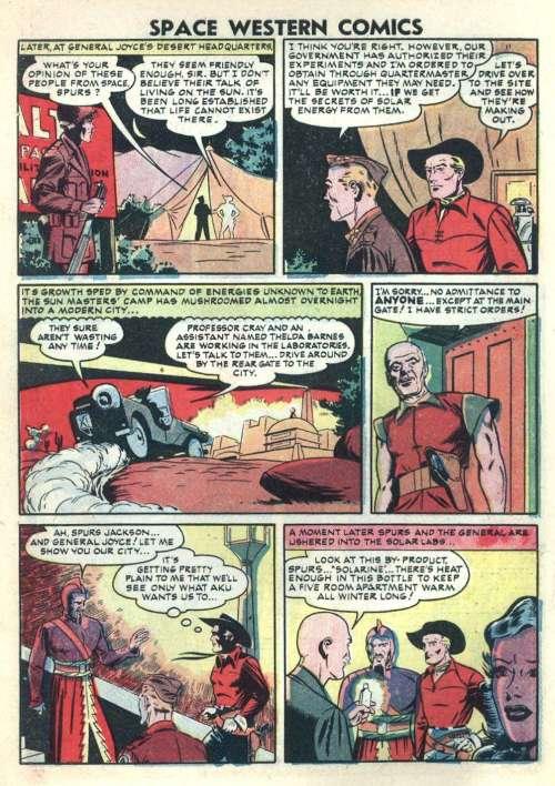 Space Western Comics #42, Feb. 1953