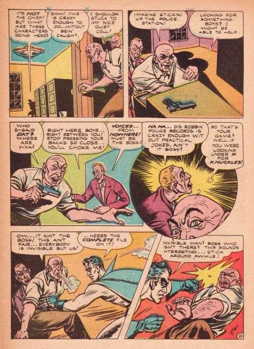 K.O. Comics #1, October 1945