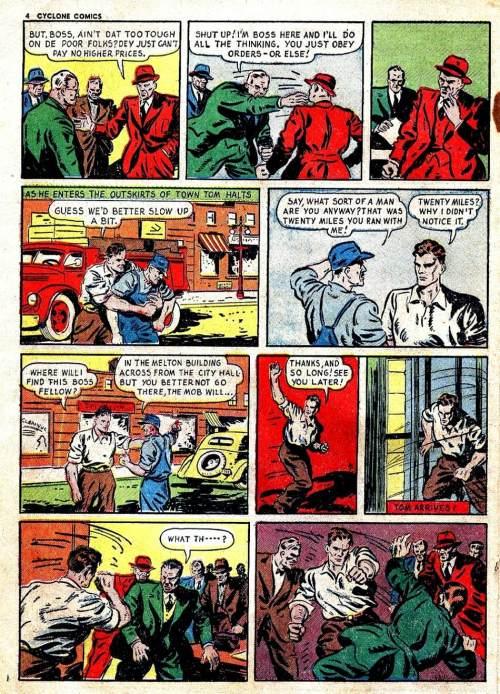 Cyclone Comics #2,  July 1940