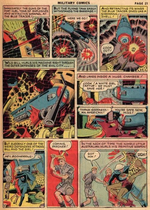 Military Comics #1, August 1941