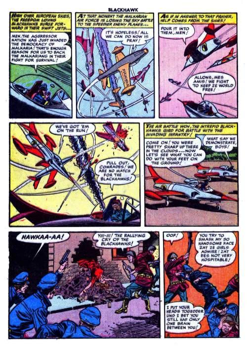 Blackhawk Comics #56, September 1952